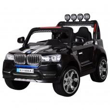 Детский электромобиль Джип Bambi M 3118 EBLR-2 BMW, двухместный, черный
