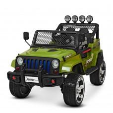 Детский электромобиль Джип Bambi M 3237 EBLR-10 Багги, хаки