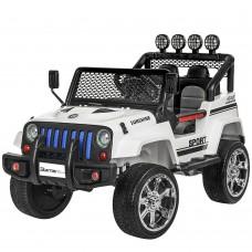 Детский электромобиль Джип Bambi M 3237 EBLR-1 Jeep, белый