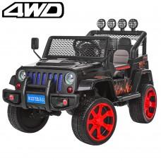 Детский электромобиль Джип Bambi M 3237 EBLR-2-3 Багги, красно-черный