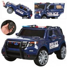 Детский электромобиль Джип Bambi M 3259 EBLR-4 Police, синий
