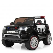 Детский электромобиль Джип Bambi M 3273 4WD EBLR-1-2 Land Rover, двухместный, черный