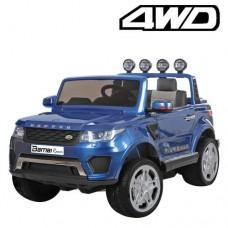 Детский электромобиль Джип Bambi M 3273 EBLRS-4 Land Rover, двухместный, синий