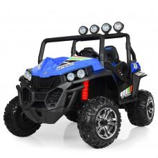 Детский электромобиль Джип Bambi M 3454(2) EBLR-4 Багги, двухместный, синий