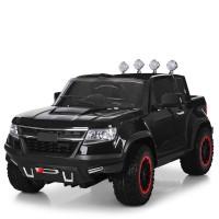 Детский электромобиль Джип Bambi M 3460 EBLR-2 Chevrolet Colorado, черный