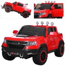 Детский электромобиль Джип Bambi M 3460 EBLR-3 Chevrolet Colorado, красный
