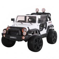Детский электромобиль Джип Bambi M 3469 EBLR-1 Багги, двухместный, белый
