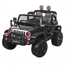 Детский электромобиль Джип Bambi M 3469 EBLR-2 Багги, двухместный, черный