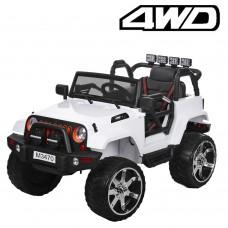 Детский электромобиль Джип Bambi M 3470 4WD EBLR-1 Багги, белый