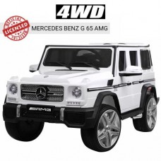 Детский электромобиль Джип Bambi M 3567 4WD EBLR-1 Гелендваген Mercedes, белый