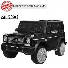 Детский электромобиль Джип Bambi M 3567 4WD EBLR-2 Гелендваген Mercedes, черный