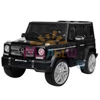 Детский электромобиль Джип Bambi M 3567 EBLR-2 Гелендваген Mercedes, черный