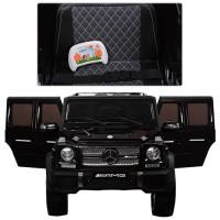 Детский электромобиль Джип Bambi M 3567 EBLR-2 Гелендваген Mercedes G65 VIP, черный