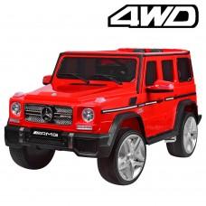 Детский электромобиль Джип Bambi M 3567 4WD EBLR-3 Гелендваген Mercedes, красный