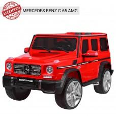 Детский электромобиль Джип Bambi M 3567 EBLR-3 Гелендваген Mercedes G65 VIP, красный