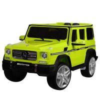 Детский электромобиль Джип Bambi M 3567 EBLR-5 Гелендваген Mercedes G65 VIP, зеленый