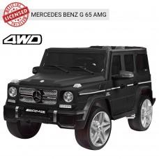 Детский электромобиль Джип Bambi M 3567 4WD EBLRM-2 Гелендваген Mercedes, матовый черный