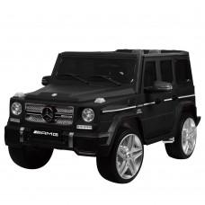 Детский электромобиль Джип Bambi M 3567 EBLRM-2 Гелендваген Mercedes G65 VIP, матовый черный