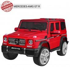 Детский электромобиль Джип Bambi M 3567 EBLRM-3 Mercedes, матовый красный