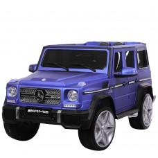 Детский электромобиль Джип Bambi M 3567 EBLRM-4 Гелендваген Mercedes G65 VIP, матовый синий