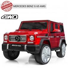 Детский электромобиль Джип Bambi M 3567 4WD EBLRS-3 Гелендваген Mercedes, красный