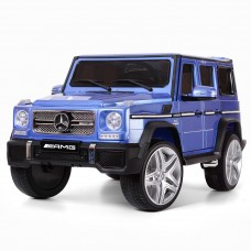 Детский электромобиль Джип Bambi M 3567 EBLRS-4 G65 VIP Гелендваген Mercedes G65 VIP, фиолетовый
