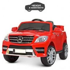Детский электромобиль Джип Bambi M 3568 EBLR-3 Mercedes ML 350, красный
