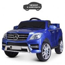 Детский электромобиль Джип Bambi M 3568 EBLRS-4 Mercedes ML 350, синий