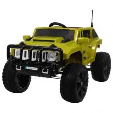Детский электромобиль Джип Bambi M 3570 EBLR-10 Hummer, зеленый