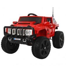 Детский электромобиль Джип Bambi M 3570 EBLR-3 Hummer, красный
