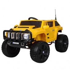 Детский электромобиль Джип Bambi M 3570 EBLR-6 Hummer, желтый