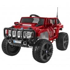Детский электромобиль Джип Bambi M 3570 EBLRS-3 Hummer, красный