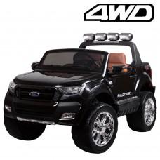 Детский электромобиль Джип Bambi M 3573 EBLR-2 Ford Ranger, двухместный, черный