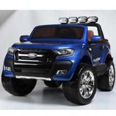 Детский электромобиль Джип Bambi M 3573 EBLRS-4 Ford Ranger, двухместный, синий