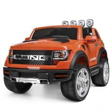 Детский электромобиль Джип Bambi M 3579 EBLR-7 Ford Long, оранжевый