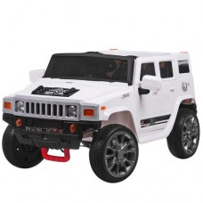 Детский электромобиль Джип Bambi M 3581 EBLR-1 Hummer, белый