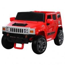 Детский электромобиль Джип Bambi M 3581 EBLR-3 Hummer, красный