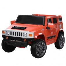 Детский электромобиль Джип Bambi M 3581 EBLR-7 Hummer, оранжевый