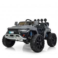 Детский электромобиль Джип Bambi M 3598 EBLR-11 Jeep, серый