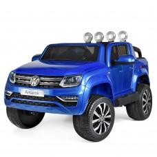 Детский электромобиль Джип Bambi M 3600 EBLRS-4 Volkswagen Amarok, синий