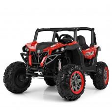 Детский электромобиль Джип Bambi M 3602 EBLRS-3-2 Багги, черно-красный