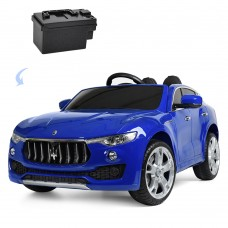 Детский электромобиль Джип Bambi M 3629 EBLRS-4 Maserati Levante, синий