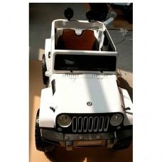 Детский электромобиль Джип Bambi M 3634 EBLR-1 Jeep, белый