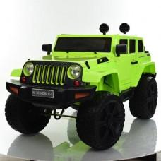 Детский электромобиль Джип Bambi M 3634 EBLR-5 Jeep, зеленый