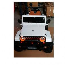 Детский электромобиль Джип Bambi M 3635 EBLR-1 Jeep, белый