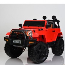 Детский электромобиль Джип Bambi M 3635 EBLR-3 Jeep, красный