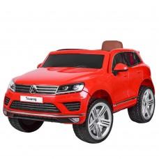 Детский электромобиль Джип Bambi M 3670 EBLR-3 Volkswagen Touareg, красный