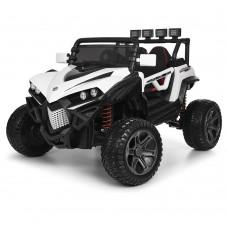 Детский электромобиль Джип Bambi M 3804 EBLR-1 Багги, черно-белый