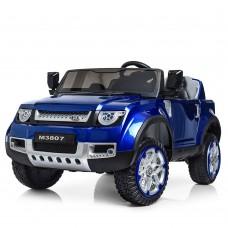 Детский электромобиль Джип Bambi M 3807 EBLRS-4 Land Rover, двухместный, синий