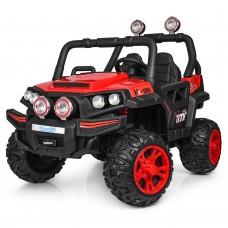 Детский электромобиль Джип Bambi M 3825 EBLR-3 Багги, двухместный, красный